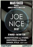 MÚSICA: Joe Nice (USA)