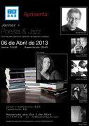 MÚSICA: Jantar + Poesia, Jazz & Bossa Nova