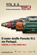 EXPOSIÇÕES: Comemorações dos 50 anos do Porsche 911