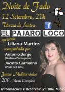 MÚSICA: Noite de Fado com Liliana Martins
