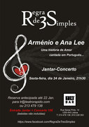 MÚSICA: Regra 3 Simples - Jantar-Concerto