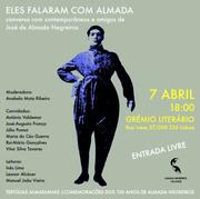 TERTÚLIA: Almada Negreiros no Grémio Literário |  7 Abril