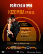AULAS: Práticas in Spot - Kizomba e Salsa