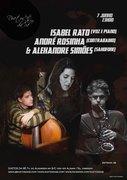 MÚSICA: Isabel Rato, André Rosinha & Alexandre Simões