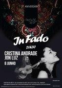 "MÚSICA: Cristina Andrade & Jon Luz - Concertos ""IN FADO"""