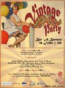 FESTAS: Vintage Party no Bar a Barraca