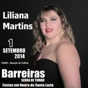 MÚSICA: Liliana Martins nas Festas em Honra de Santa Luzia