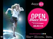 ATIVIDADES: Open Dance Week - Aulas dança 3€