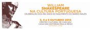 FESTIVAIS: William Shakespeare na Cultura Portuguesa