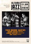 MÚSICA: TRIO BRUNO SANTOS - Bruno Santos, Romeu Tristão & Joel Silva - ALFAMA JAZZ
