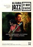 MÚSICA: André Fernandes & Oscar Graça - Concertos ALFAMA JAZZ