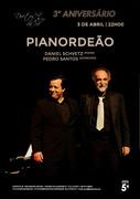 MÚSICA: PIANORDEÃO - Daniel Schvetz & Pedro Santos