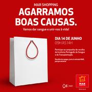 EVENTO SOLIDÁRIO: Recolha de Sangue no MAR Shopping