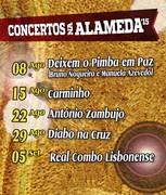 MÚSICA: Concertos na Alameda