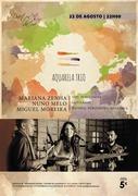 MÚSICA: Aquarela Trio - Mariana Zenha, Nuno Melo & Miguel Moreira