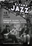 MÚSICA: Enrique Oliver & Jaume Llombart - Concertos ALFAMA JAZZ