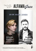MÚSICA: Allison Philips & Pedro Branco - Concertos ALFAMA JAZZ