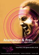 """ANAMATEUR & PROS"" - Georgios Anamateros, Mário Franco & Bruno Pedroso - Concertos Alfama Jazz"