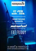 MÚSICA: Malcontent + Fat Freddy