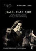 MÚSICA: Isabel Rato Trio - Isabel Rato, Bruno Margalho & Francisco Brito