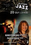 MÚSICA: Nuno Ferreira & Paula Sousa - Concertos ALFAMA JAZZ