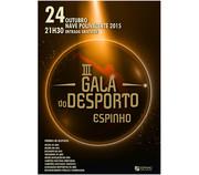 FESTAS: 3ª Gala do Desporto