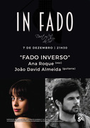 """MÚSICA: Ana Roque & João David Almeida - Concertos IN FADO  - """"FADO INVERSO"""""""
