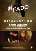 "MÚSICA: Daniela Mendes & André Marques da Silva - ""FADO ENREDO"" - Concertos IN FADO"