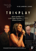 MÚSICA: TRI4PLAY - Artur Jordão, Luis Filipe Martins & Diana Cravo