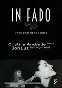 MÚSICA: Cristina Andrade & Jon Luz - Concertos in Fado