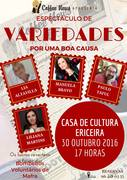 ESPECTÁCULOS: Espectáculo de Variedades - Por uma boa causa!