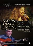 FADOS, TANGOS & AFINS - Mili Vizcaíno & Gabriel Godoi - CONCERTO NO DUETOS DA SÉ, ALFAMA, LISBOA