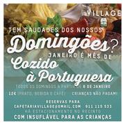 GASTRONOMIA: Domingões na Cafetaria Village