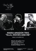 """MÚSICA: Maria Anadon Trio - """"Ella, movies and me"""""""