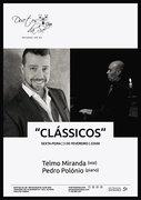 "MÚSICA: ""Clássicos"" - Telmo Miranda & Pedro Polónio"