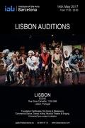 FORMAÇÃO: Audições em Lisboa para a IAB – Institute of the Arts Barcelona - Dança, Teatro Musical, Teatro, Canto
