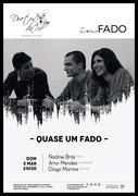 """""""QUASE UM FADO"""" - NADINE BRÁS, ARTUR MENDES & DIOGO MARTINS - CONCERTO """"IN FADO"""" DO DUETOS DA SÉ, ALFAMA, LISBOA"""