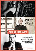 """MÚSICA: """"Trio de Improviso"""" - Bianca Adrião, Hernan Castillo & Danny Esteves de Almeida"""