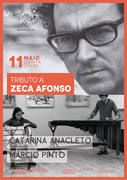 "MÚSICA: ""Tributo a Zeca Afonso"" - Catarina Anacleto & Márcio Pinto"