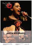 """MÚSCA: """"Anita no Brasil"""" - Ana Freitas & Miguel Mendes"""