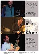 MÚSICA: BPN Jazz Trio – Bruno Margalho, Nuno Costa & Pedro Felgar