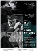 MÚSICA: Hugo Antunes convida: João Nuno Bernardo & Luís Candeias