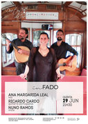 "MÚSICA: Ana Margarida Leal, Ricardo Cardo & Nuno Ramos – Em concerto ""In Fado"""