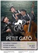"MÚSICA: ""Petit Gatô"" - Petit Gatô""  Ricardo Torres, Vitor Nunes & Pedro F. Sousa"