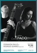 """FERNANDA PAULO E RODRIGO SERRÃO – EM CONCERTO """"IN FADO"""" DO DUETOS DA SÉ, ALFAMA, LISBOA"""