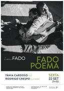 """MÚSICA: """"Fado Poema"""" – Tânia Cardoso & Rodrigo Crespo"""
