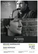 """MÚSICA: Bruno Margalho & Dan Hewson - Concerto """"Alfama Jazz"""""""