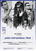 """MÚSICA: """"João Espadinha Trio"""" – João Espadinha, Nicolo Ricci & Ricardo Marques – Concerto """"Alfama Jazz"""""""