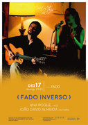 """FADO INVERSO"" – ANA ROQUE & JOÃO DAVID ALMEIDA - CONCERTO ""IN FADO"" NO DUETOS DA SÉ, ALFAMA, LISBOA"