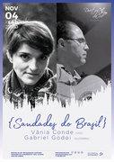 """MÚSICA: """"Saudades do Brasil""""  Vânia Conde & Gabriel Godoi"""